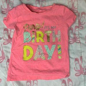 Party! It's my birthday